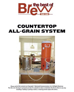 Countertop All-Grain System